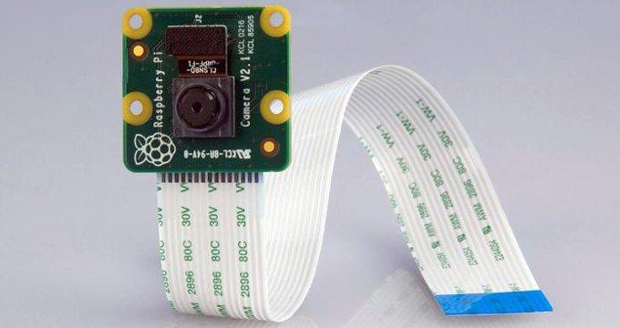 Raspberry-Pi Kamera mit 8 Megapixel